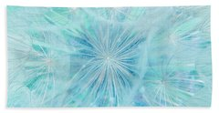 Aqua Salsify Beach Towel