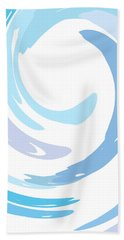 Aqua Swirl Beach Towel