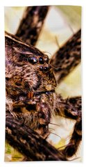 Arachnophobia Beach Towel