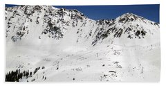 Arapahoe Basin Ski Resort - Colorado          Beach Towel