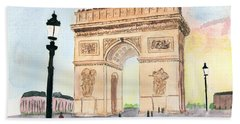 Arc De Triomphe Beach Sheet
