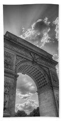 Arch At Washington Square Beach Sheet