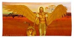 Archangel Ariel Beach Towel