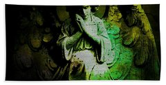 Archangel Uriel Beach Towel