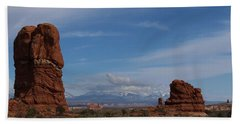 Arches National Monument Beach Towel