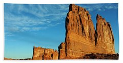 Beach Sheet featuring the photograph Arches National Park 47 by Jeff Brunton