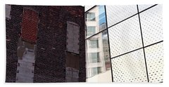 Architectural Juxtaposition On The High Line Beach Towel