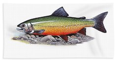 Arctic Char Male Beach Towel
