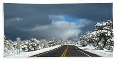 Arizona Snow 1 Beach Towel