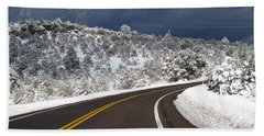 Arizona Snow 2 Beach Towel