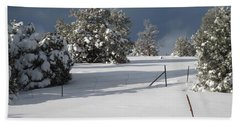 Arizona Snow 3 Beach Towel