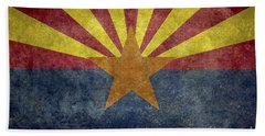 Arizona State Flag Beach Towel