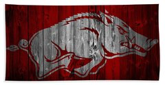 University Of Arkansas Beach Towels