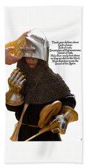 Armor Of God Beach Towel