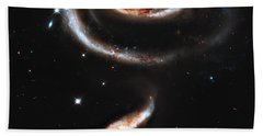 Arp 273 Rose Galaxies Beach Towel
