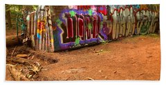 Art Along The Cheakamus River Beach Towel