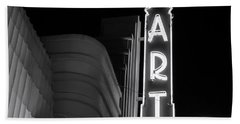 Art Theatre Long Beach Denise Dube Beach Towel