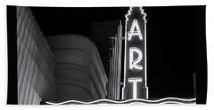 Art Theatre Long Beach Denise Dube Beach Towel