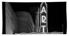Art Theatre Long Beach Denise Dube Beach Sheet