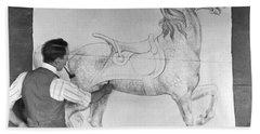 Designs Similar to Artist Draws Carousel Animals