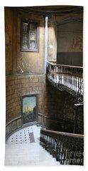 Artistic Staircase In Tbilisi Beach Sheet