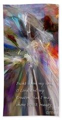 Artist's Prayer Beach Sheet