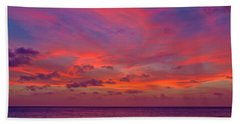 Aruba Sunset Beach Towel