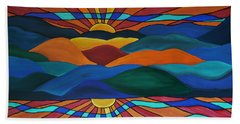As Above So Below Beach Towel
