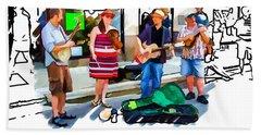 Asheville Buskers Beach Sheet