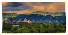 Asheville North Carolina Beach Towel