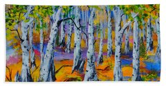 Aspen Friends In Walkerville Beach Towel