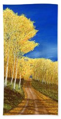 Aspen Road Beach Towel