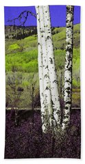 Aspens 4 Beach Towel