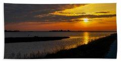 Assateague Sunrise Beach Sheet