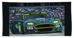 Aston Martin Wins Le Mans 2008 Beach Towel