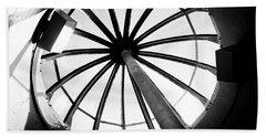 Oregon Beach Towel featuring the photograph Astoria Column Dome by Aaron Berg