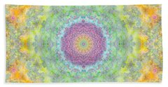 Astral Field Beach Towel