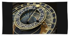 Astronomical Clock Beach Sheet
