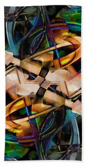 Asturias In G Minor Abstract Beach Towel