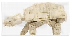 At-at All Terrain Armored Transport Beach Towel