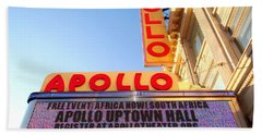 At The Apollo Beach Towel by Ed Weidman