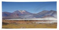 Atacama Hills Beach Towel