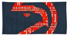 Atlanta Hawks Beach Towels