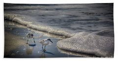 Attack Of The Sea Foam Beach Towel