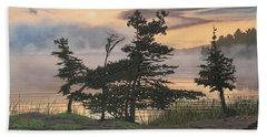 Auburn Evening Beach Towel