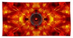 Audio Kaleidoscope Beach Towel