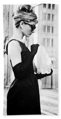 Audrey At Tiffanys Beach Towel