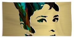 Audrey Hepburn Gold Series Beach Towel