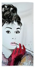 Audrey Hepburn - Original Beach Towel