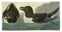 Audubon Razorbill Beach Towel